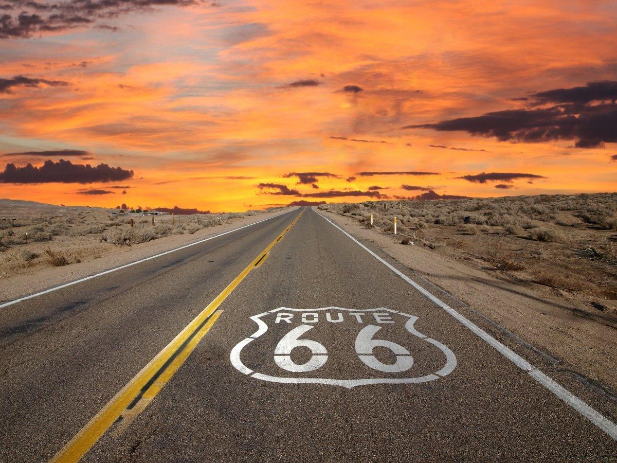 La mitica Route 66