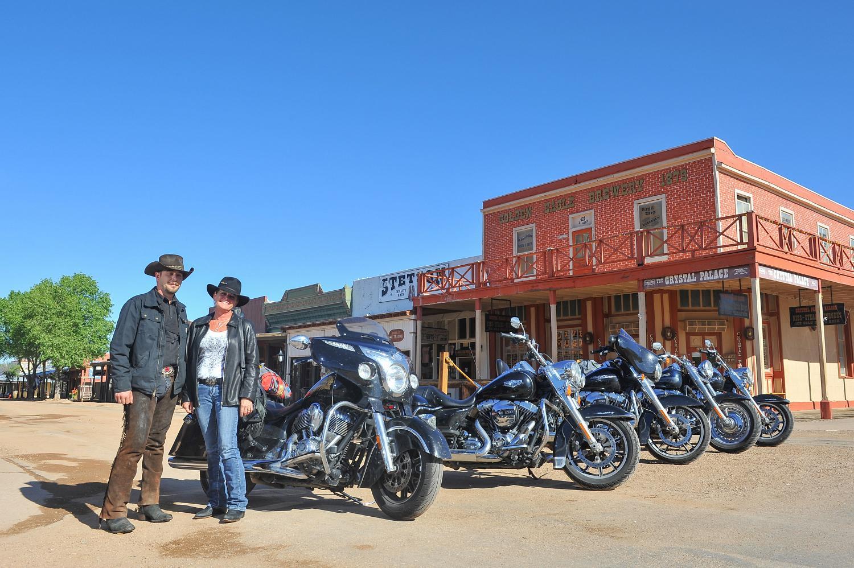 La vecchia città di Tombstone (Arizona) sulla via del West, la mitica Route 66
