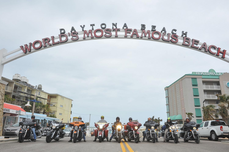 Il mitico ingresso alla spiaggia di Daytona Beach