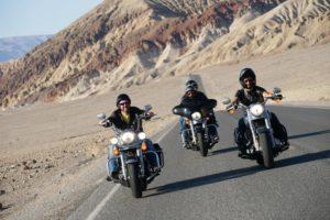 La death valley presso Las Vegas sulla via della Route 66