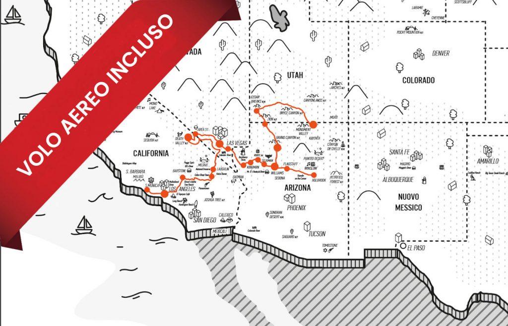 """<a href=""""https://www.americainmoto.it/i-nostri-viaggi/viaggi-be-twin/west-route-66-classic-summer-edition"""" target=""""_blank"""" rel=""""noopener noreferrer"""">Viaggio Be-Twin® Di Gruppo Esclusivo Kanaloa Fly&Ride®</a>"""